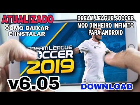 Atualizado Dream League Soccer 2019 Mod Dinheiro Infinito Para Android Downlo Downloading Youtube Free Online T Youtube Videos Twitter Video Insta Videos