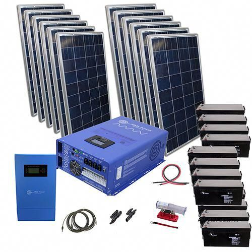Aims Power 3180 Watt Solar With 8 000 Watt Pure Sine Power Inverter Charger 48vdc 120 240vac Of In 2020 Best Solar Panels Solar Panel Installation Solar Energy Panels