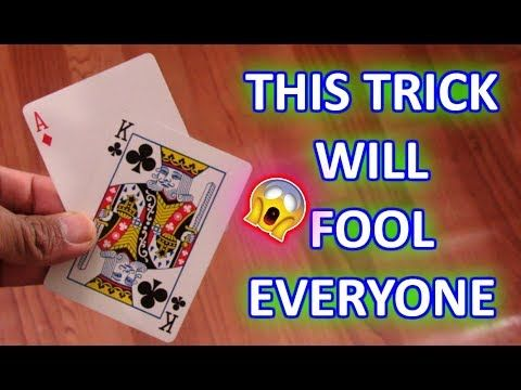 Best Gimmick Card Magic Trick Tutorial Revealed Youtube