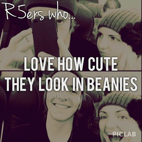 I wish I could look that cute in beanies