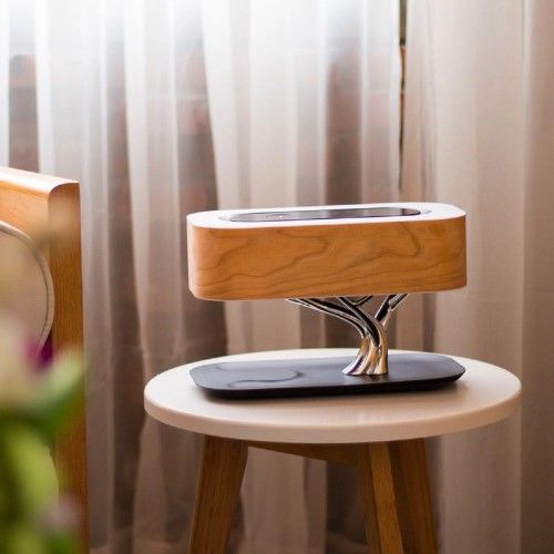 Trae 3 In 1 Tree Lamp Inspiring Product Bedside Lamp Tree Lamp Wireless Speakers Bluetooth