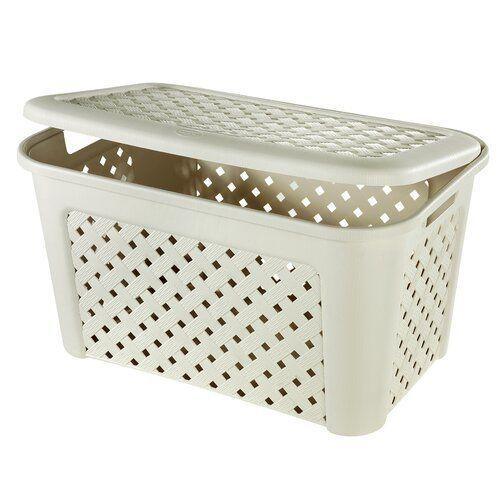 Symple Stuff Laundry Basket With Lid Wayfair De Basket Laundry