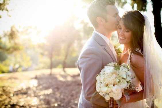 Pretty Pastels and Lace DIY Wedding in California | Bridal Musings Love this pic!