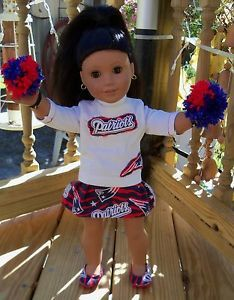 "4-Piece 18"" Doll American Girl New England Patriots Football ..."