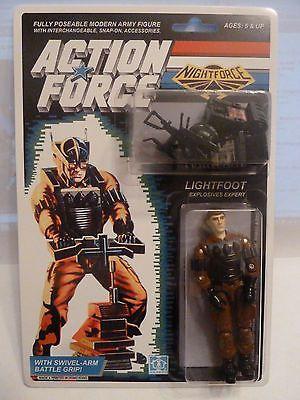 Action Force / GI Joe Night Force Light Foot MOC MIB Carded