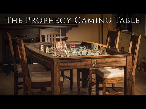 Fine Gaming Furniture Including The Prophecy Sojourn Gaming Tables From Wyrmwood Makers Of Quality Gaming S Table Games Board Game Table Game Room Furniture