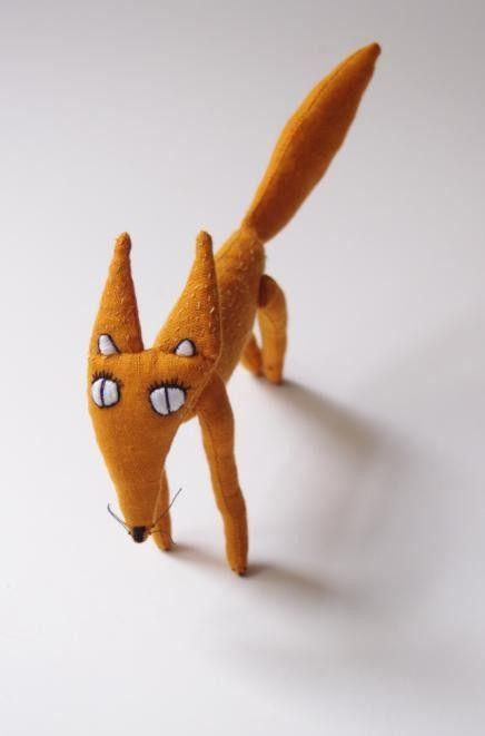Handmade Fox by adatine / etsy