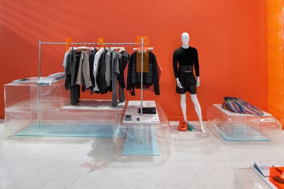 Bright Young Things pop-up store and window design by Bonsoir Paris, London » Retail Design Blog