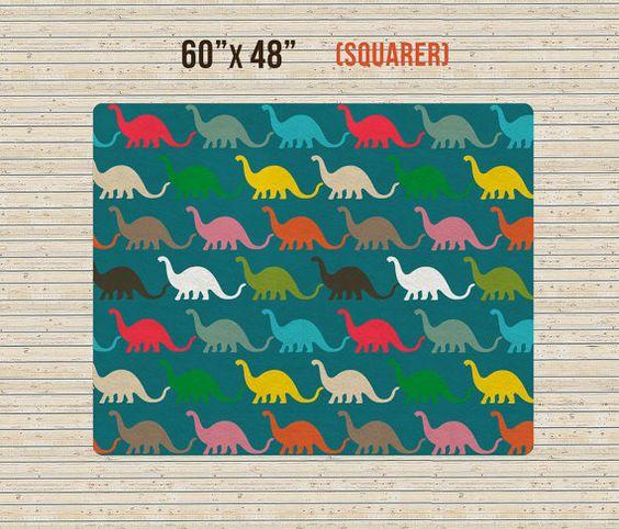 Tapis décoratif tapis de pépinière tapis dinosaure par TheGretest