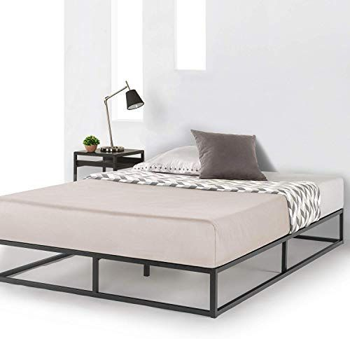The Best Price Mattress King Bed Frame 10 Inch Metal Platform Bed Frame Box Type W Classic Wooden Slat Support Mattress Foundation No Box Spring Needed Ki In 2020 Platform Bed