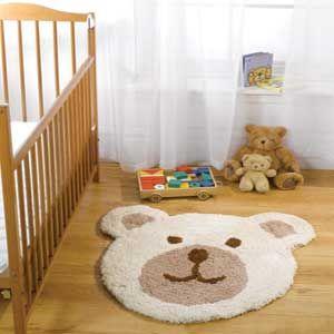 Childrens Nursery Teddy Bear Rugs