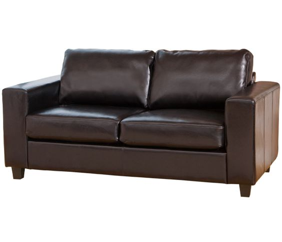 Paris 3 Seat Sofa in brown