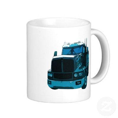 blue semi hay trucks | Blue Semi Truck