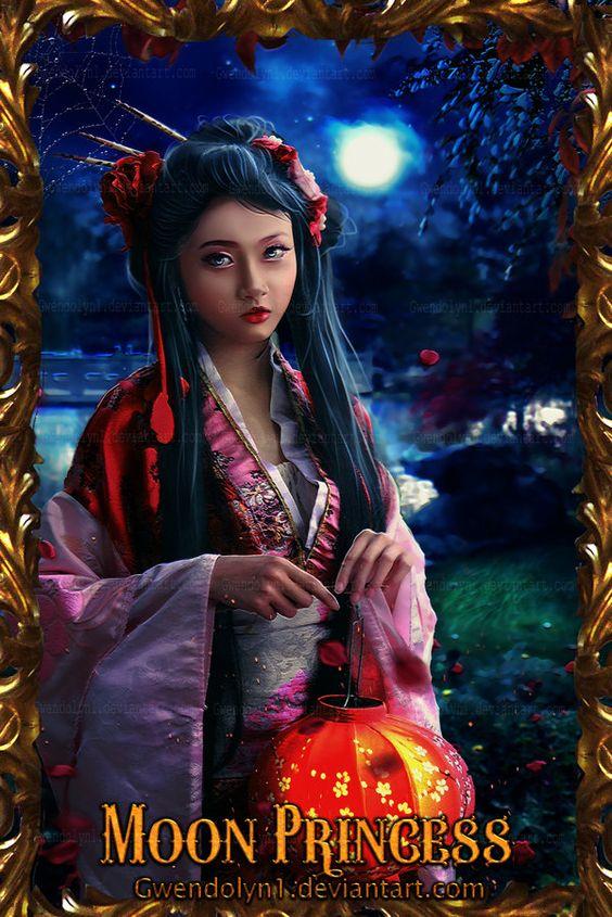 Moon Princess by Gwendolyn1