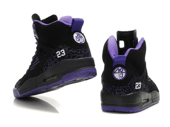 Purple Jordan Girls Basketball Shoes | Dates 2012|Air Jordan 3.5 Retro Womens Basketball Shoes