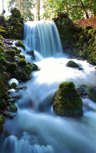 waterfall photography - Efeito conhecido como véu de noiva