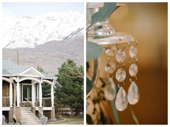 Castle Park Reception Center in Lindon Utah by wedding photographer Brooke Bakken   LDS Bride and Groom   Modest Wedding Dress   Blush   Cream