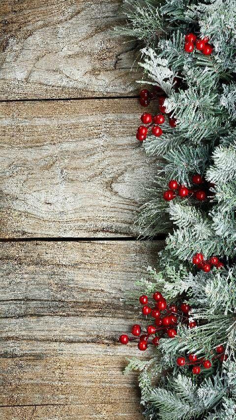Home Screen Iphone Christmas Aesthetic Wallpaper