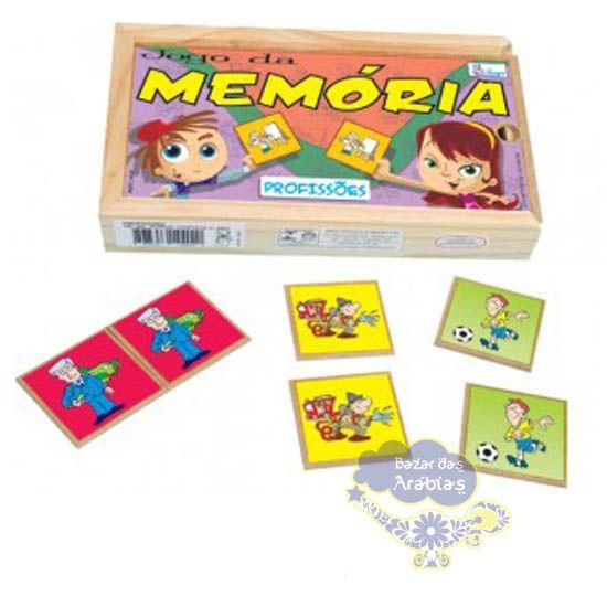 Memória profissões, Memória Profissões Simque, Brinquedos Simque, Brinquedos Educativos, Brinquedos de Madeira, Brinquedos Didáticos, Jogos de madeira,