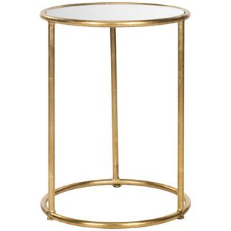 Found it at Wayfair.co.uk - Safavieh Mineola Side Table - Finish: Gold / Mirror