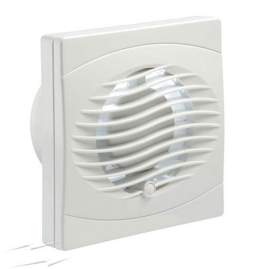 Manrose Quiet Bathroom Extractor Fan With Timer White 100mm In 2020 Bathroom Extractor Extractor Fans Shower Extractor Fan