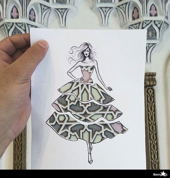 BESTY.pl - Shamekh Al-Bluwi i jego ilustracje mody