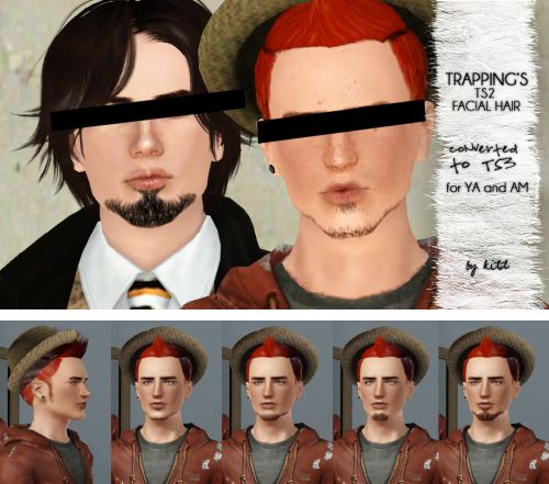 Realistic male facial hair for Sims 3 c:   http://simplykitsch.tumblr.com/post/33843962112/conversions-of-a-few-of-trappings-stunning-ts2