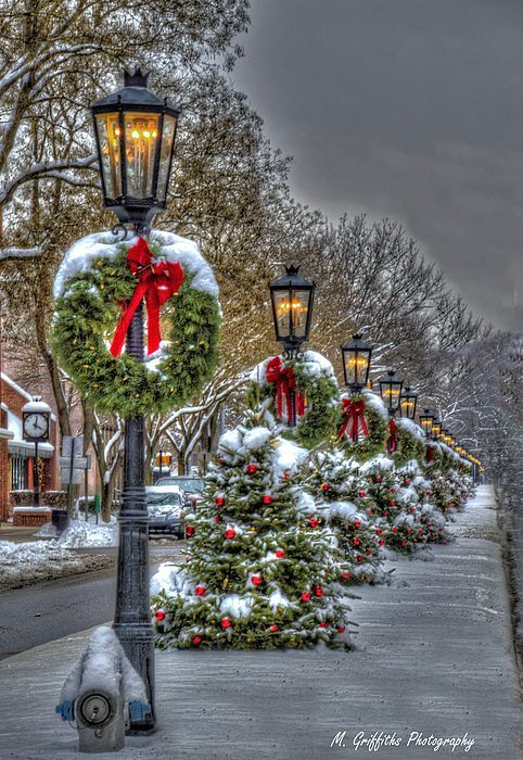 Christmas On Main Street By Mike