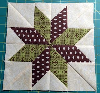 Squash House Quilts: No Y-Seams 8-Point Star Tutorial!