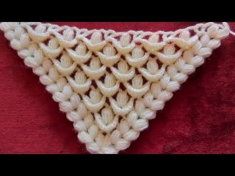 كروشيه شال مثلث بغرزة مجسمة غرزة ريش الطاووس Crochet Triangle Shawl 3d قناة كشكول بسمة Youtube Crochet Shoes Pattern Crochet Patterns Crochet