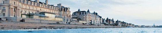 Les Thermes Marins : la thalasso à Saint-Malo. Et la webcam quand vous voulez, les images de la digue en direct!: http://www.thalassotherapie.com/info/webcam/