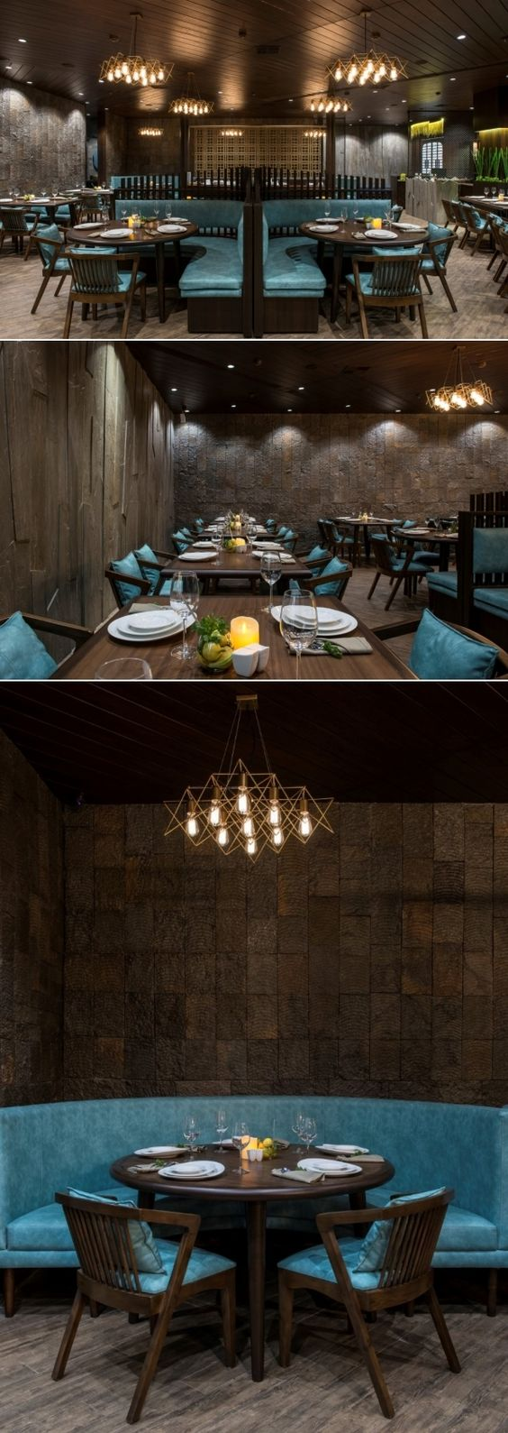 Restaurant Interior Has Modern Experience