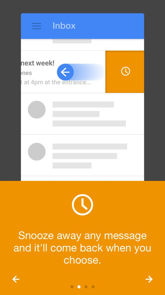 Google inbox iPhone app