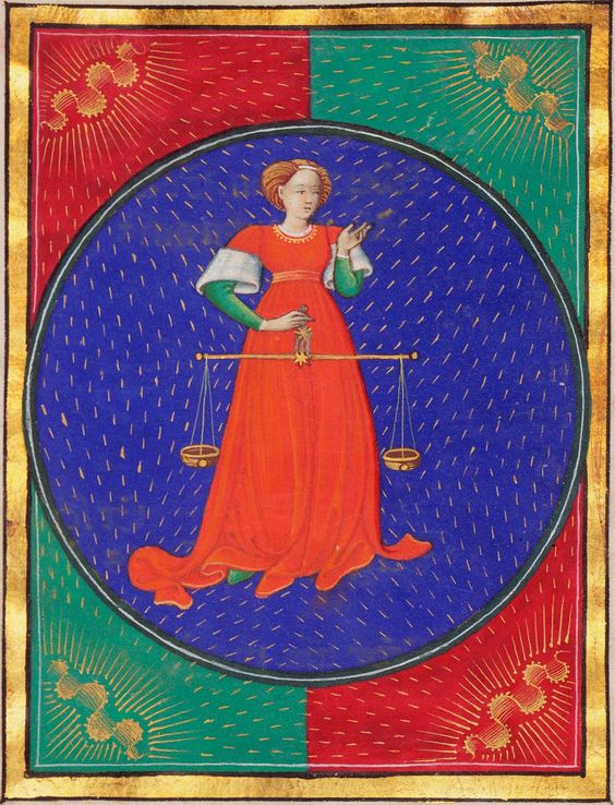 Libra | Book of Hours | ca. 1473 | The Morgan Library & Museum: