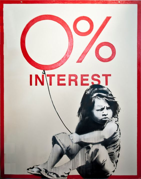 0% Interest, Banksy