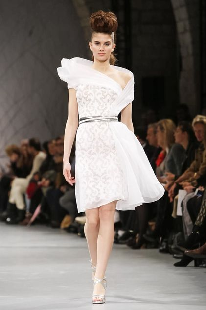 Georges Chakra Haute Couture Spring Summer 2014 Paris - NOWFASHION