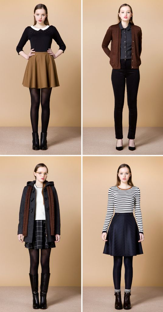 Betina Lou A W 2015 Preppy Outfits Fashion Vintage Outfits