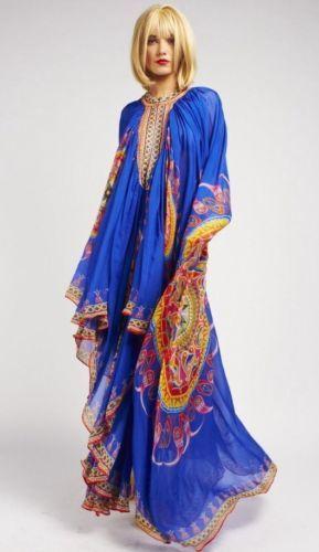 New Camilla Franks Swarovski Oracle Crape Kaftan Dress |..nice at home party  kaftan.  eBay