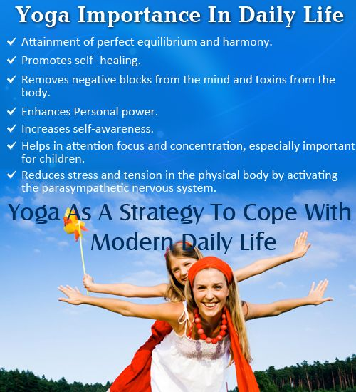 How Yoga Helps Us Cope With Daily Life Aura Wellness Center Yoga Help Yoga Tips Yoga For Stress Relief