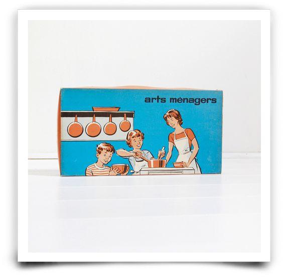 Batterie de casserole dans sa boîte des années 50, jamais utilisée.En parfait état.Retrait sans frais : Entrez le code ATELIER à la fin de votre commande