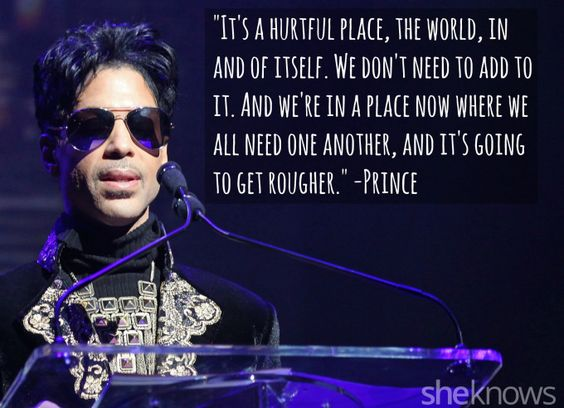 Prince's most moving song lyrics and quotes: The pop legend
