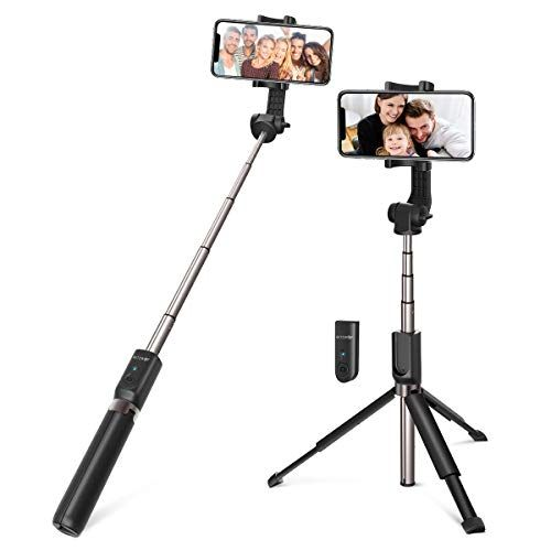 Selfie Stick Bluetooth Blitzwolf 35 Inch Super Long Extendable Selfie Stick With Wireless Remote And Tripod For Iphone Selfie Stick Iphone Headset Smartphone