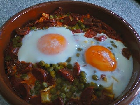 Huevos A La Flamenca Youtube In 2020 Food Recetas Make It Yourself