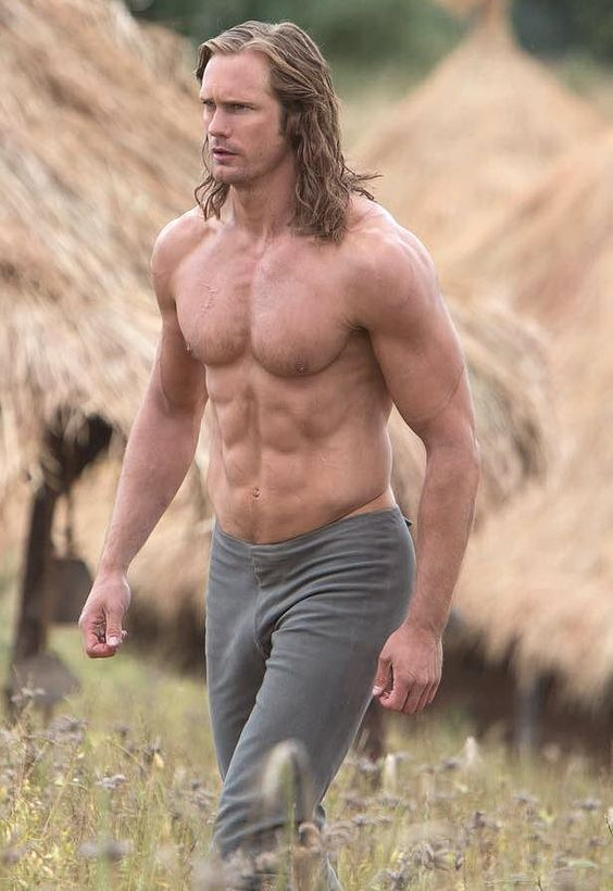 """New HQ promo still of Alex in The Legend of Tarzan! From WHO Magazine: """"HAPPY TUESDAY! Check out this new shot of #AlexanderSkarsgård from the set of his upcoming Tarzan movie, co-starring Australia's..."""