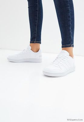 Zapatillas Adidas blancas | Zapatillas adidas, Zapatillas ...