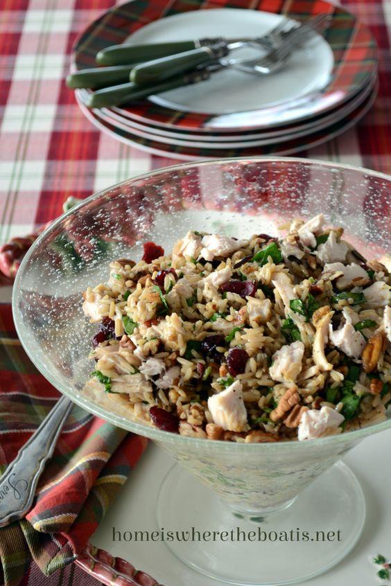 wild rice leftover turkey rice pecans rice salad chicken night salads ...