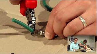 Do it yourself # Verlängerungsleitung reparieren (Muffen) - YouTube