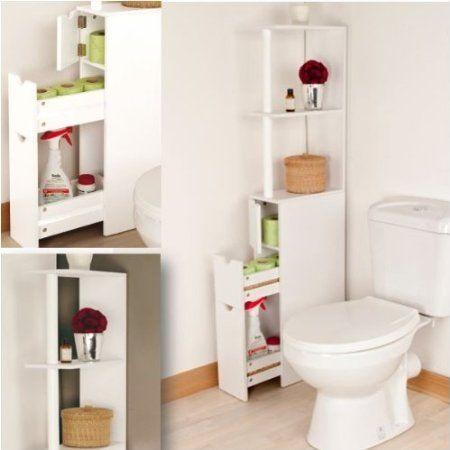 Probache Meuble Wc Tag Re Bois Gain De Place Pour Toilettes Maison Pinterest Lieux Et Tags