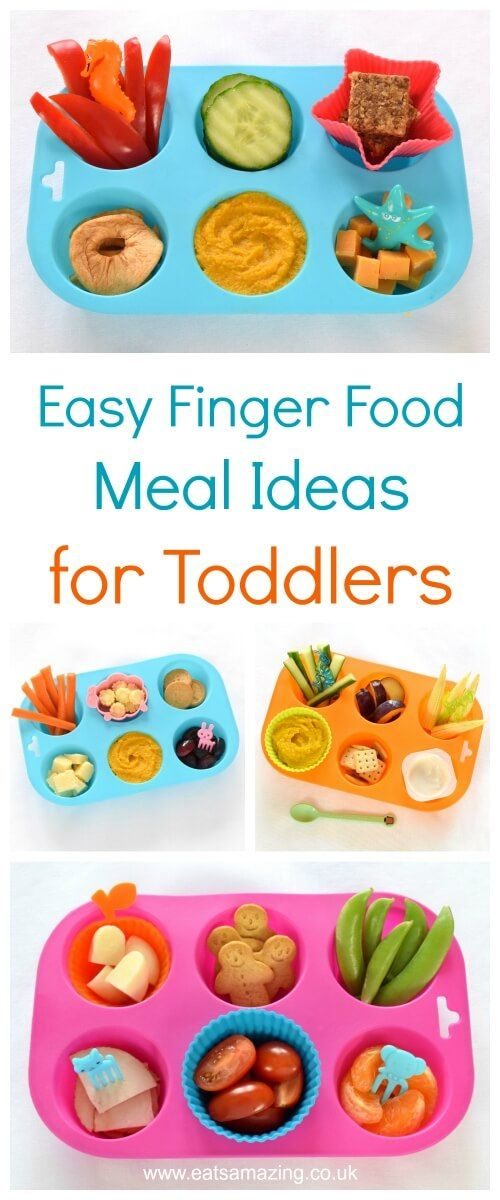 4 Simple Muffin Tin Meals For Toddlers