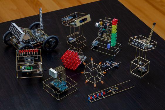 Cara Unik Membuat Rangkaian Elektronika tanpa PCB